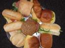Schaal diverse broodjes